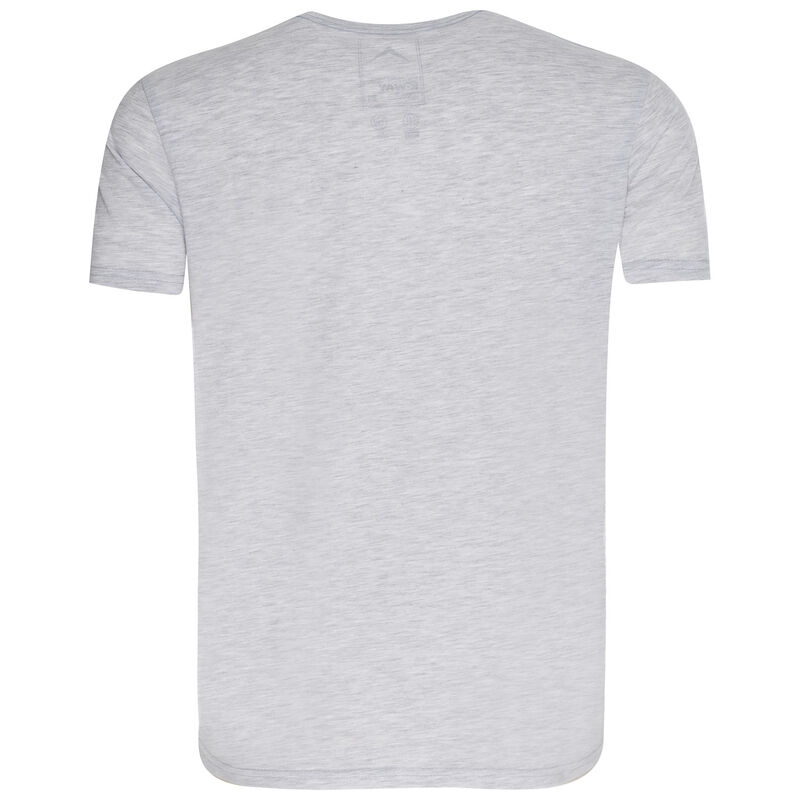 K-Way Men's Mount Kilimanjaro S19.3 T-Shirt -  silvergrey