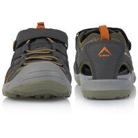 K-Way Camper Kids' Sandal -  khaki-grey