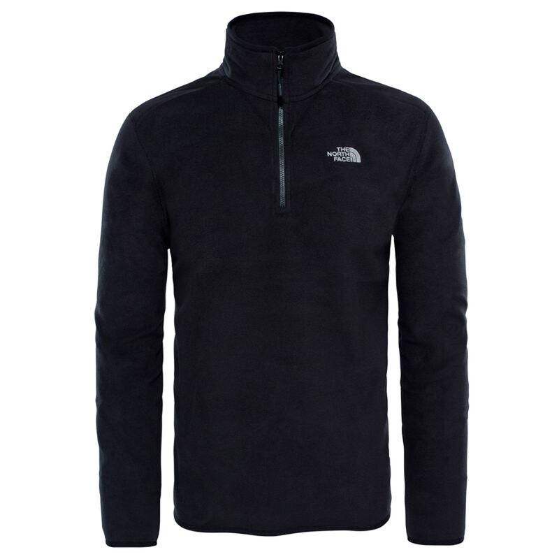 North Face Men's 100 Glacier ¼ Zip Fleece -  c01