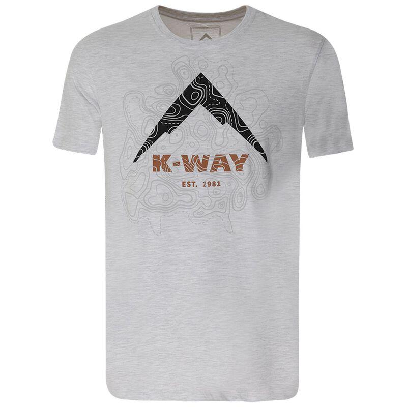 K-Way Men's Contours T-Shirt S20 -  grey