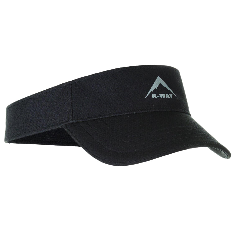 K Way Flash Visor Cap Black
